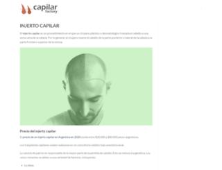 injerto-capilar.com.ar screenshot