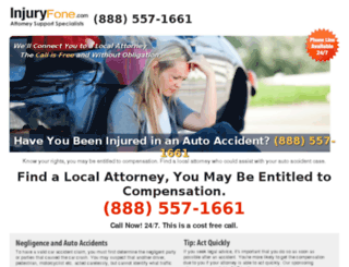 injuryfone.com screenshot