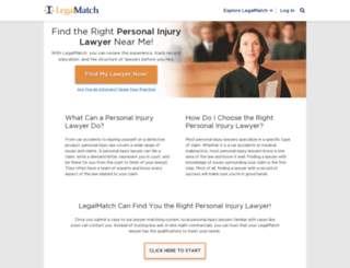 how to find a personal lawyer