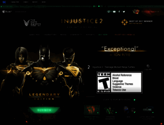 injustice.com screenshot