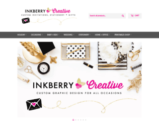 inkberrycards.com screenshot