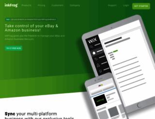 inkfrog.com screenshot