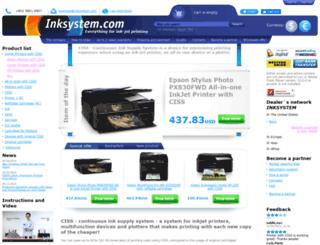 inksystem.com screenshot