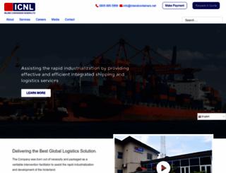 inlandcontainers.net screenshot