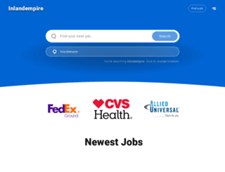 inlandempire.jobing.com screenshot