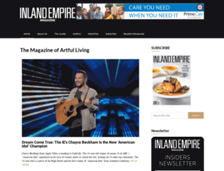inlandempiremagazine.com screenshot