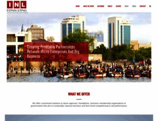 inlconsulting.com screenshot