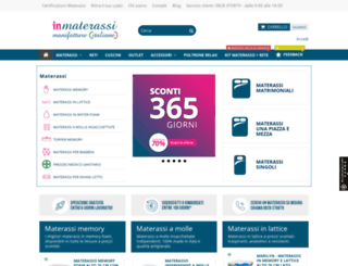 Access inmaterassi.it. Materassi on line in offerta, reti a doghe ...