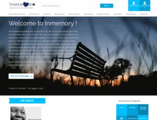 inmemoryglobal.com screenshot