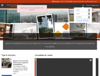 inmueblesreales.com screenshot
