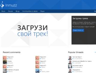 inmuzz.com screenshot