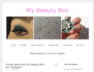 inmybeautybox.wordpress.com screenshot