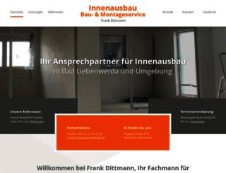 innenausbau-dittmann.de screenshot