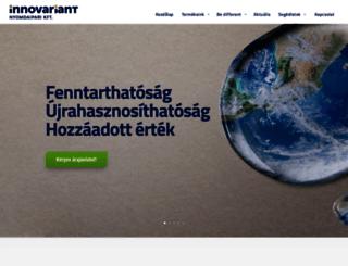 innovariant.hu screenshot