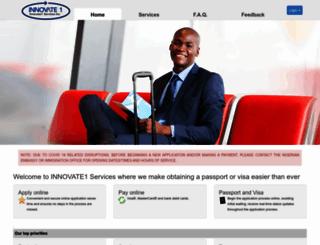 innovate1services.com screenshot