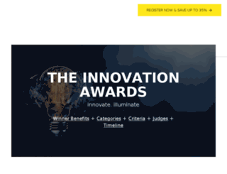 innovationawards.thedma.org screenshot
