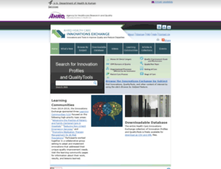 innovations.ahrq.gov screenshot