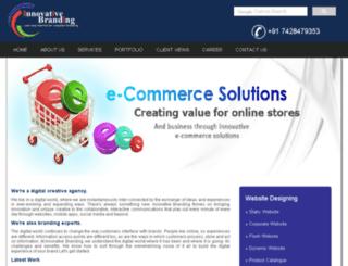 innovativebranding.co.in screenshot