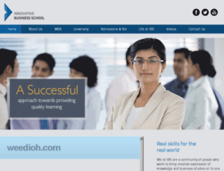 innovativebusinessschool.com screenshot
