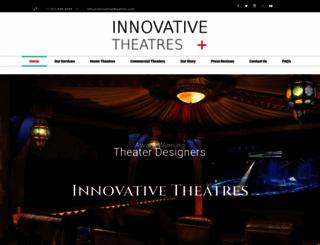 innovativetheatres.com screenshot