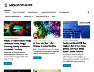 innovators-guide.ch screenshot