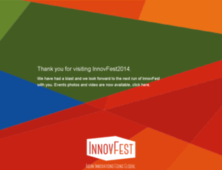 innovfest.sg screenshot