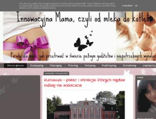 innowacyjnamama.pl screenshot