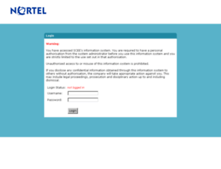 inotes.scee.net screenshot