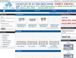 inoxvanxuan.mov.mn screenshot