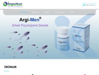 inpetussaglik.com.tr screenshot