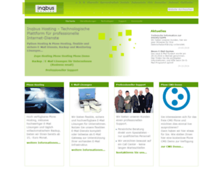 inqbus-hosting.de screenshot