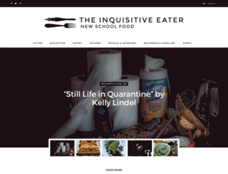 inquisitiveeater.com screenshot