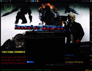 insaniacgaming.forumotion.com screenshot