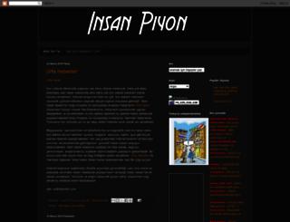 insanpiyon.blogspot.com screenshot