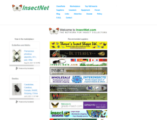 insectnet.com screenshot