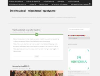 insektojady.pl screenshot