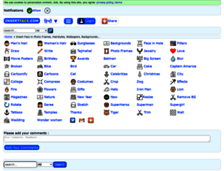 insertface.com screenshot