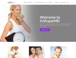 inshapemd.com screenshot