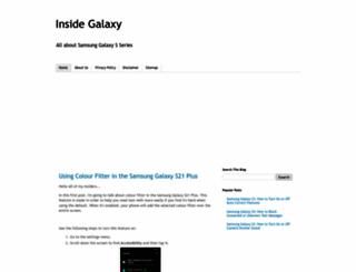 inside-galaxy.blogspot.co.uk screenshot