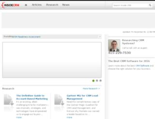 insidecrm.com screenshot