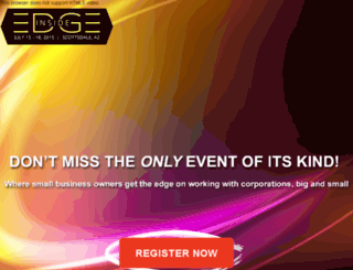 insideedge2014.com screenshot