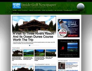 insidegolfnewspaper.com screenshot