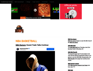 insidehoops.com screenshot