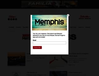 insidememphisbusiness.com screenshot