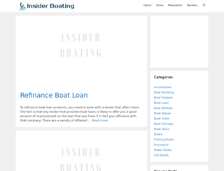 insiderboating.com screenshot