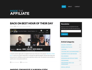 insidetheaffiliate.com screenshot