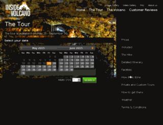 insidethevolcano.ferdathing.is screenshot