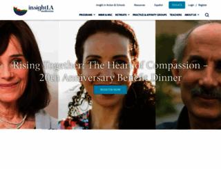 insightla.org screenshot