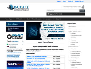 insightpharmareports.com screenshot