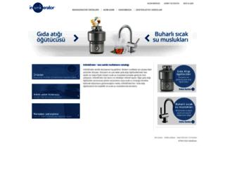 insinkerator.com.tr screenshot